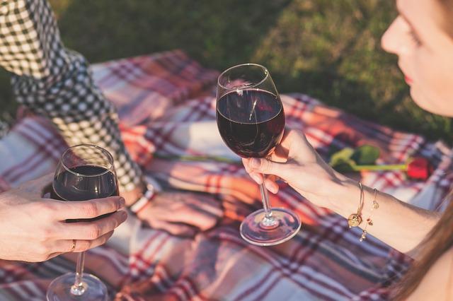 piknik s vínem