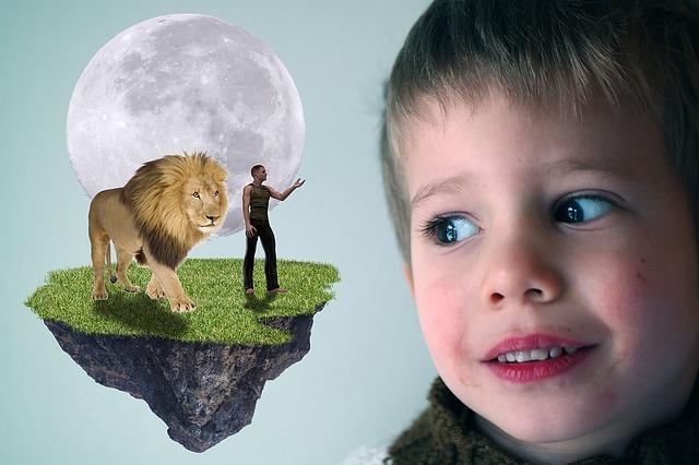 dětské představ o jiném světě