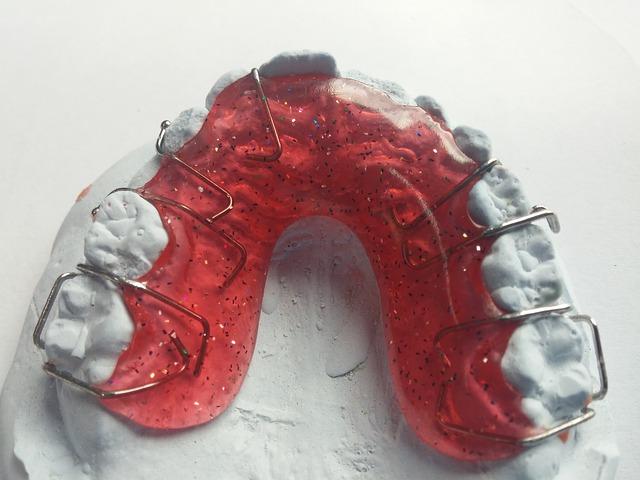 zuby rovnátka