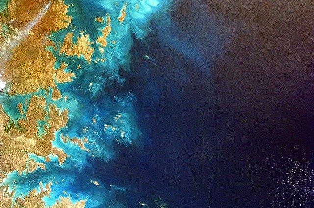 satelitní snímek Země