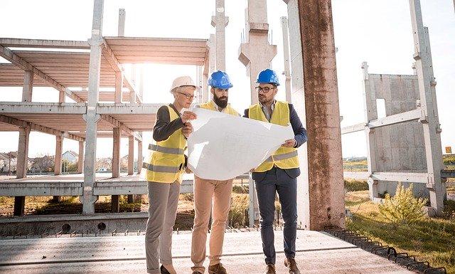 architekti na stavbě